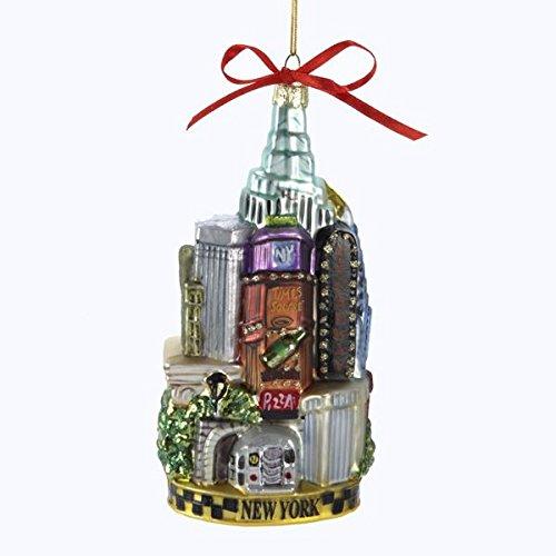 Kurt Adler T0738 California Glass Ornament 6-1//2-Inch